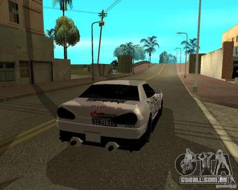 Vinil para Elegy para GTA San Andreas vista direita