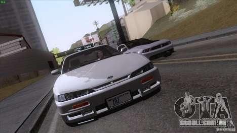 Nissan Silvia S14 Kouki para vista lateral GTA San Andreas
