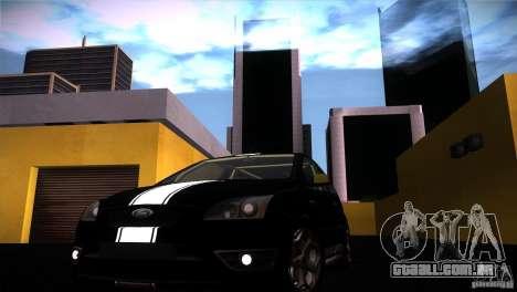 Ford Focus 2 Coupe para GTA San Andreas vista direita