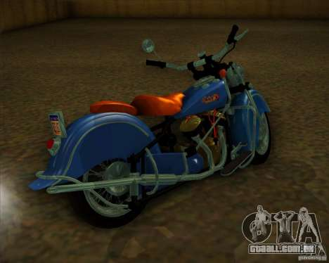 Indian Chief 1948 para GTA San Andreas vista direita