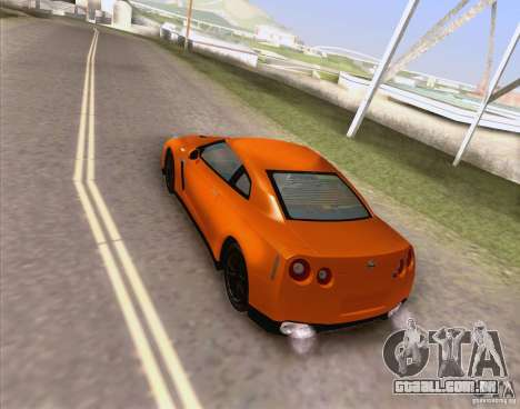 HQ Realistic World v2.0 para GTA San Andreas por diante tela