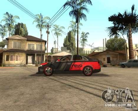 Audi RS4 Grip para GTA San Andreas esquerda vista