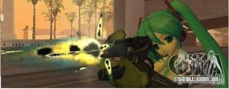 Half-Life weapon pack para GTA San Andreas por diante tela