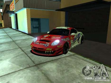 Porsche Cayman S NFS Shift para GTA San Andreas vista direita