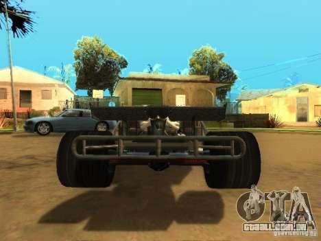 Fast & Furious 6 Flipper Car para vista lateral GTA San Andreas