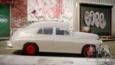 GÁS M20V ganhar americano 1955 v 1.0 para GTA 4 vista lateral
