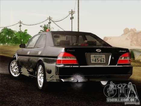 Nissan Laurel GC35 Kouki Unmarked Police Car para GTA San Andreas esquerda vista