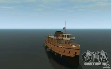 Staten Island Ferry para GTA 4 vista de volta