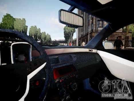 Chevrolet Camaro ZL1 para GTA 4 vista de volta