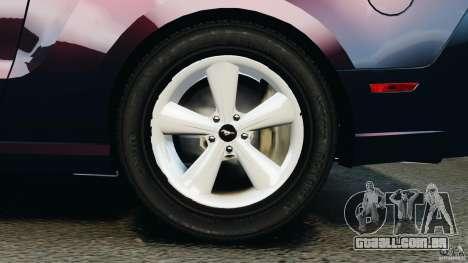 Ford Mustang 2013 Police Edition [ELS] para GTA 4 vista superior