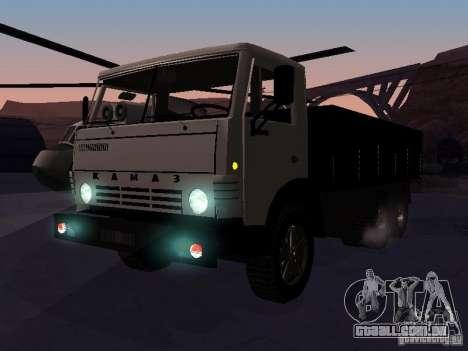 KAMAZ 53212 aberto para GTA San Andreas