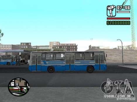 Segurança Ikarus 260 para GTA San Andreas esquerda vista