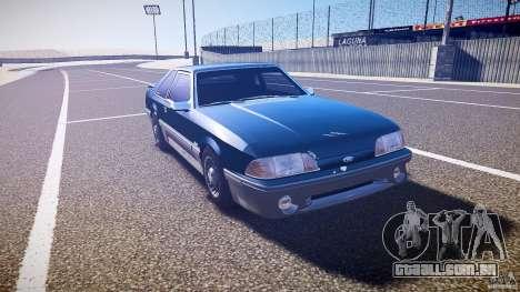 Ford Mustang GT 1993 Rims 1 para GTA 4 vista de volta
