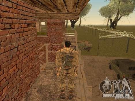 Degtyarev de Stalker para GTA San Andreas por diante tela