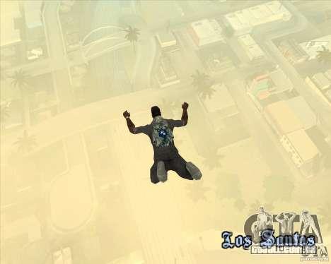 Rockstar de pára-quedas (camuflagem) para GTA San Andreas