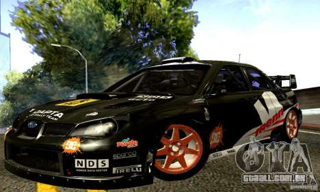 Subaru Impreza WRC 2007 para GTA San Andreas