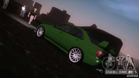 Subaru Impreza WRX STi para GTA San Andreas interior