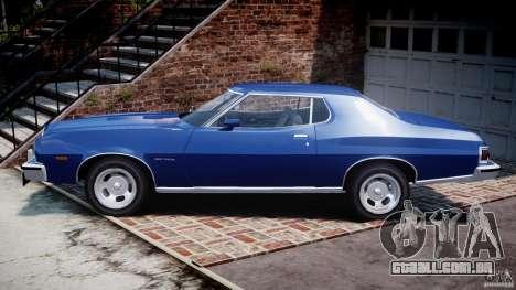 Ford Gran Torino 1975 para GTA 4 esquerda vista