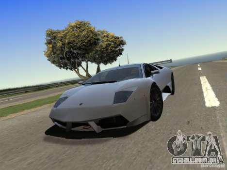 IG ENBSeries v2.0 para GTA San Andreas por diante tela