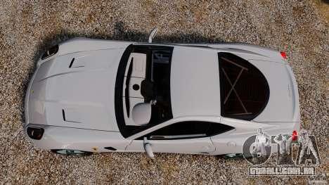 Ferrari 599 GTB Fiorano 2006 para GTA 4 vista direita