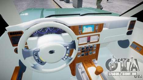 Range Rover Vogue para GTA 4 vista direita
