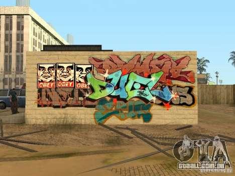Cidade de los Santos graffiti lendas v1 para GTA San Andreas