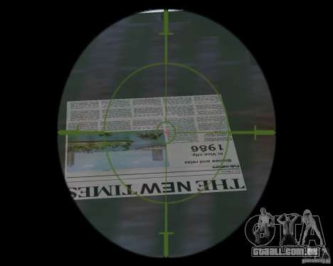 Água nova, jornais, folhas, lua para GTA Vice City sexta tela