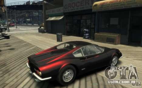 Ferrari Dino 1969 para GTA 4 vista direita