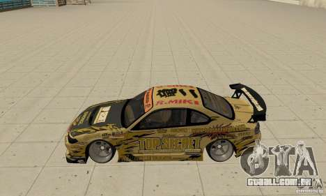 Nissan Silvia S15 Top Secret para GTA San Andreas esquerda vista