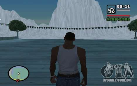 Mountain map para GTA San Andreas segunda tela