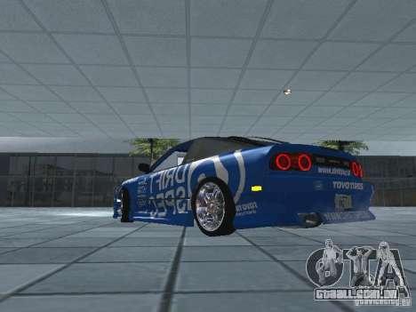 Nissan RPS13 Drift Spec para GTA San Andreas traseira esquerda vista