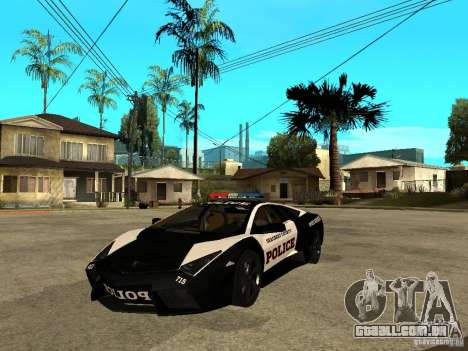 Lamborghini Reventon The Speed Enforcer para GTA San Andreas