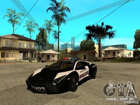 Lamborghini Reventon The Speed Enforcer para GTA San Andreas