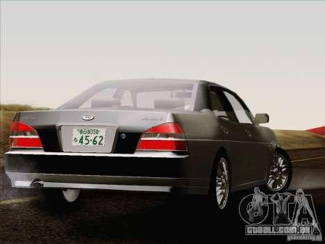 Nissan Laurel GC35 Kouki Unmarked Police Car para GTA San Andreas traseira esquerda vista