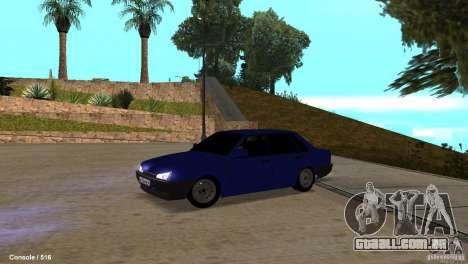 BAZ 21099 para GTA San Andreas esquerda vista