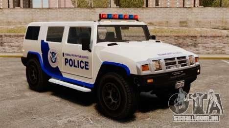 Estados Unidos Departamento de segurança interna para GTA 4 segundo screenshot