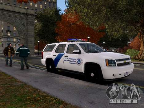 Chevrolet Tahoe Homeland Security para GTA 4