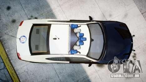 Dodge Charger Florida Highway Patrol [ELS] para GTA 4 vista direita
