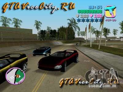 INFERNUS do GTA 3 para GTA Vice City