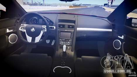 Holden Commodore (CIVIL) para GTA 4 vista de volta