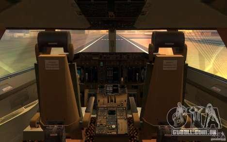 Boeing-747 Corsair Fly para GTA San Andreas vista direita