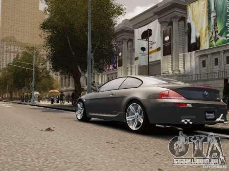 BMW M6 2010 para GTA 4 vista direita