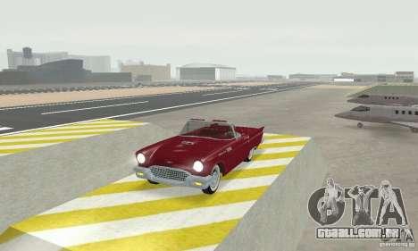 Ford Thunderbird 1957 para GTA San Andreas esquerda vista