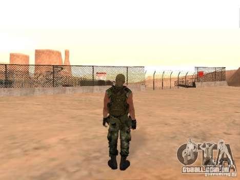 Comando russo para GTA San Andreas por diante tela