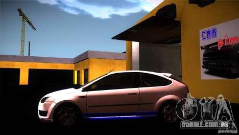 Ford Focus 2 Coupe para GTA San Andreas esquerda vista