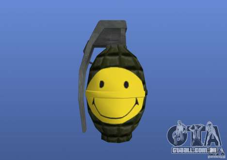 Smiley Granate para GTA 4