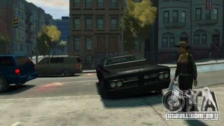 Slamvan para GTA 4 vista de volta