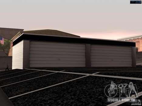 Nova garagem em San Fierro para GTA San Andreas terceira tela