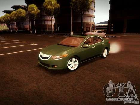 Acura TSX para GTA San Andreas