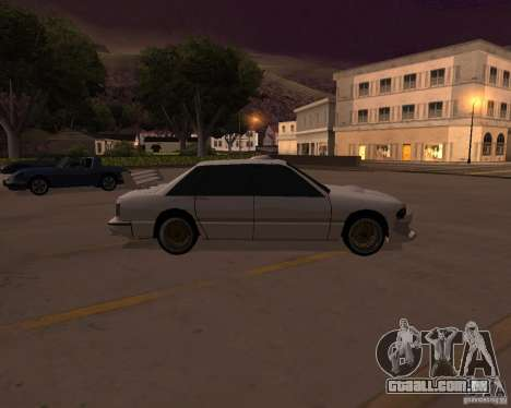 Taxi para GTA San Andreas esquerda vista